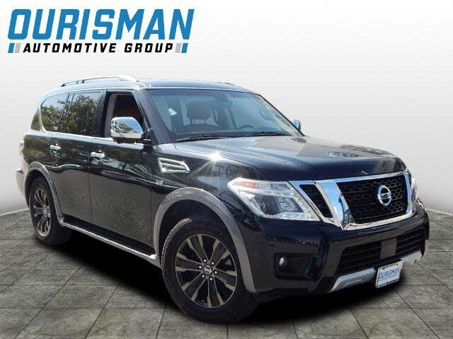 2017 Nissan Armada Platinum 4WD