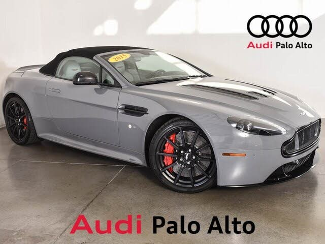 2015 Aston Martin V12 Vantage S Roadster RWD