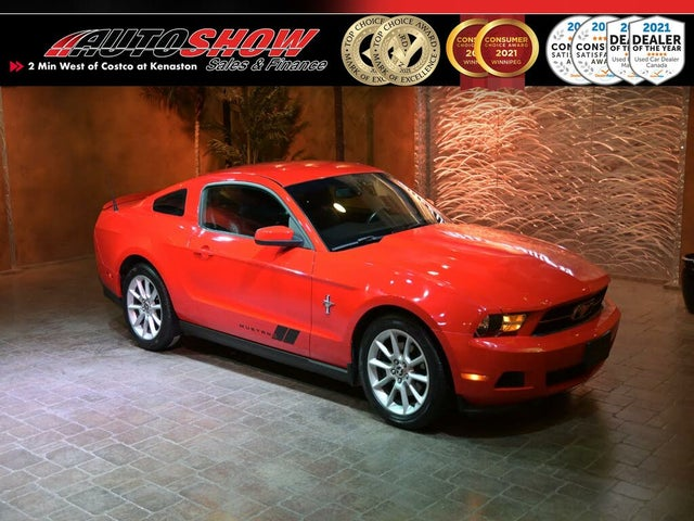 2011 Ford Mustang Coupe RWD with Pony Package