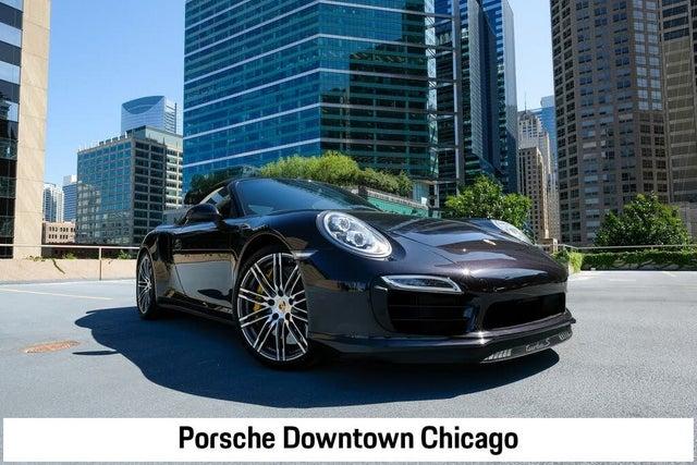 2014 Porsche 911 Turbo S Cabriolet AWD