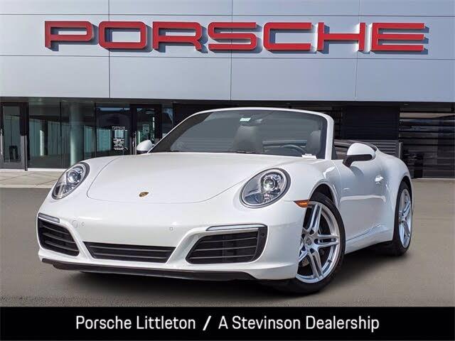 2019 Porsche 911 Carrera Cabriolet RWD