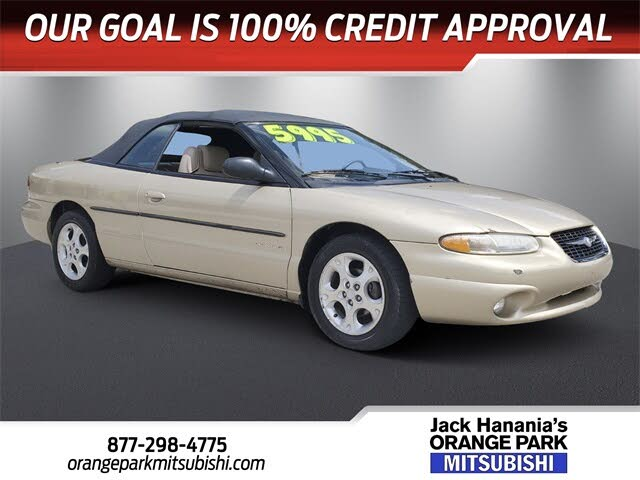 2000 Chrysler Sebring JXi Convertible FWD