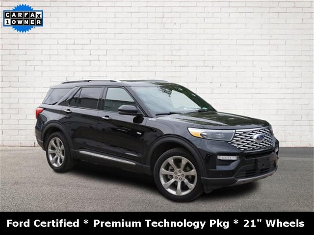 2020 Ford Explorer Platinum AWD