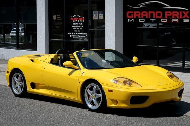 2001 Ferrari 360 Spider RWD