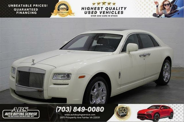 2010 Rolls-Royce Ghost Sedan