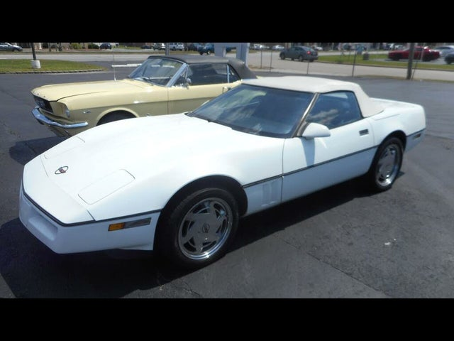 1989 Chevrolet Corvette Convertible RWD