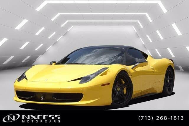 2012 Ferrari 458 Italia Coupe RWD