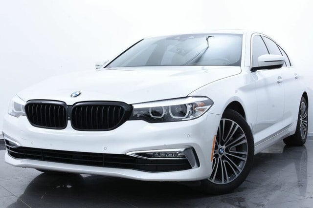 2018 BMW 5 Series 530i Sedan RWD