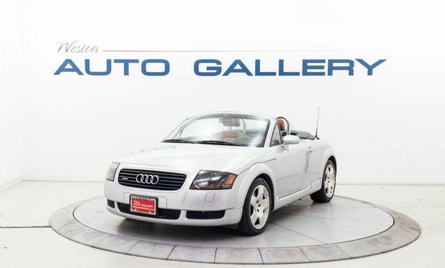 2001 Audi TT 1.8T quattro Roadster AWD