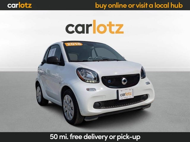 2018 smart fortwo electric drive passion hatchback RWD