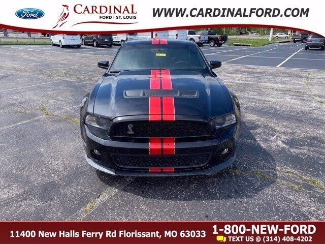 2012 Ford Mustang Shelby GT500 Coupe RWD