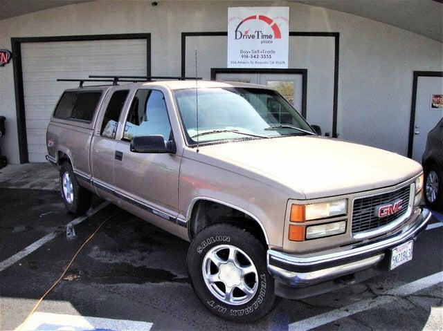 1997 GMC Sierra 1500 K1500 SLE 4WD Extended Cab SB