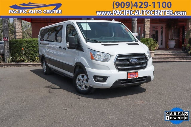 2020 Ford Transit Passenger 350 XLT Low Roof LWB RWD with Sliding Passenger-Side Door