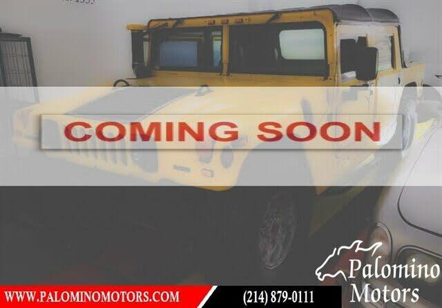 2000 AM General Hummer 4-Door Open Top AWD