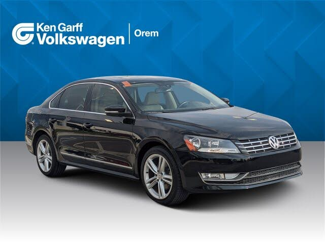 2014 Volkswagen Passat TDI SE with Sunroof and Nav