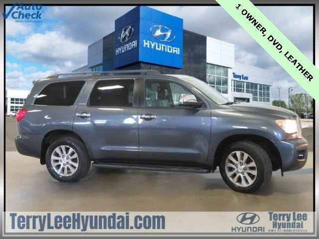 2010 Toyota Sequoia Limited 4WD FFV