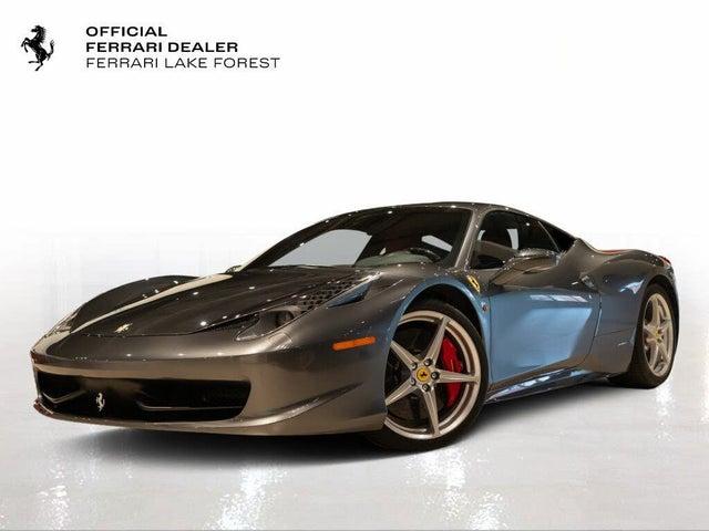 2011 Ferrari 458 Italia Coupe RWD