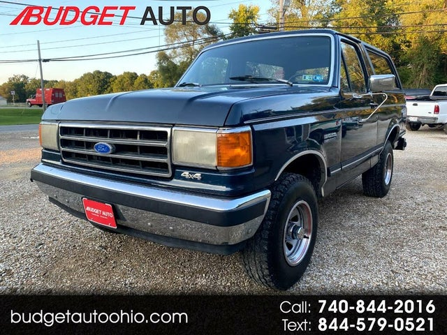 1989 Ford Bronco XLT 4WD