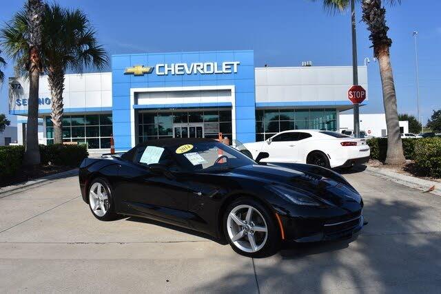 2014 Chevrolet Corvette Stingray 1LT Convertible RWD