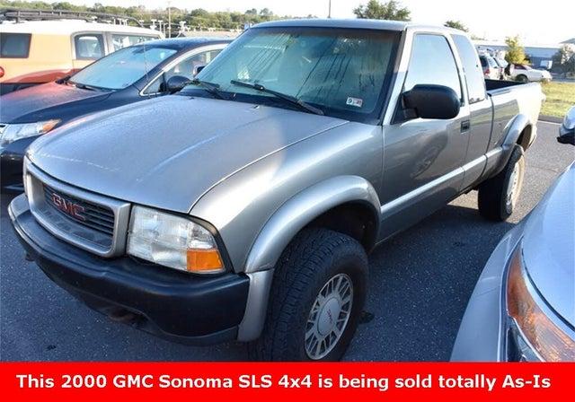 2000 GMC Sonoma SLS Ext Cab Short Bed 4WD