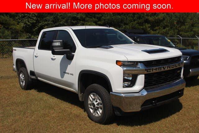 2021 Chevrolet Silverado 2500HD LT Crew Cab 4WD