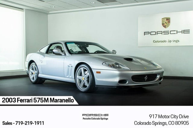 2003 Ferrari 575M Maranello RWD
