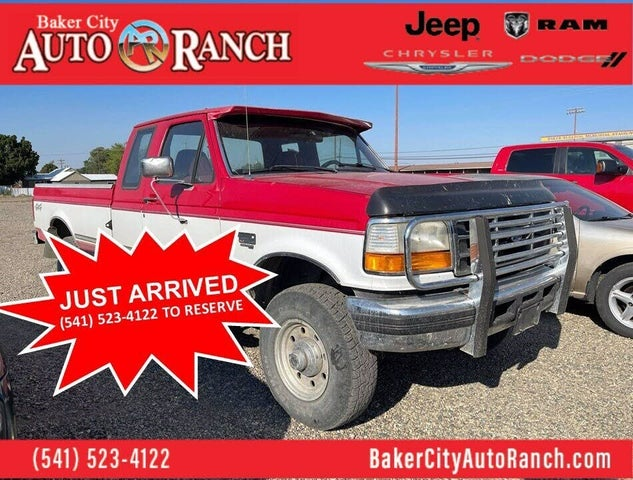 1996 Ford F-250 2 Dr XLT 4WD Extended Cab SB HD