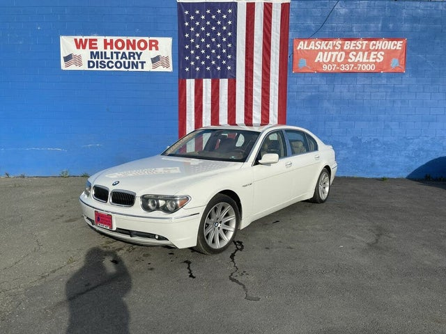 2005 BMW 7 Series 760Li RWD