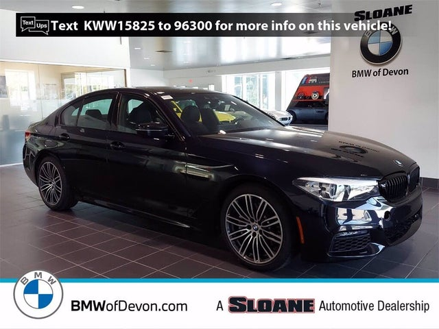 2019 BMW 5 Series 540i xDrive Sedan AWD