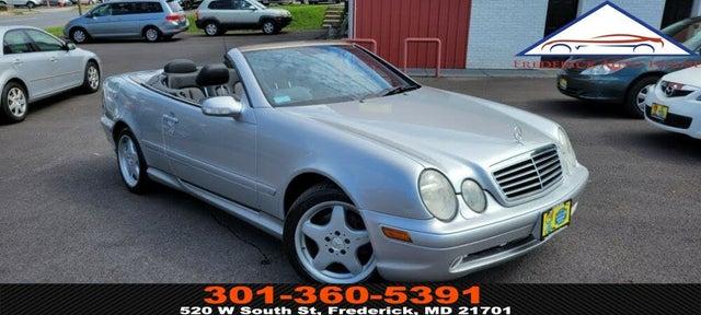 2001 Mercedes-Benz CLK-Class CLK 430 Cabriolet