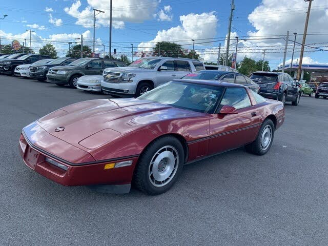1987 Chevrolet Corvette Coupe RWD