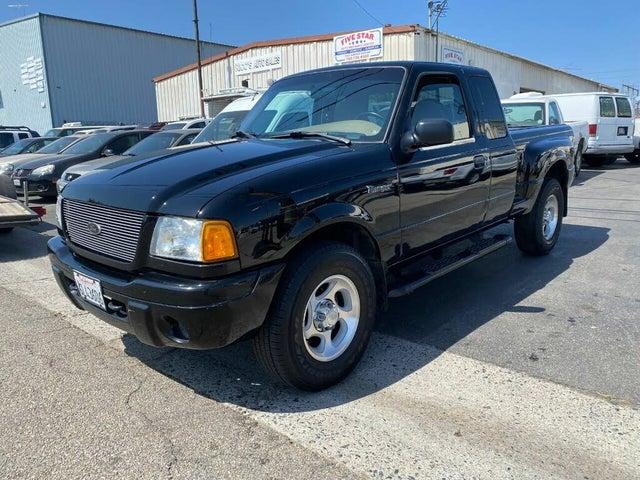 2001 Ford Ranger XLT 4 Door SuperCab Flareside 4WD