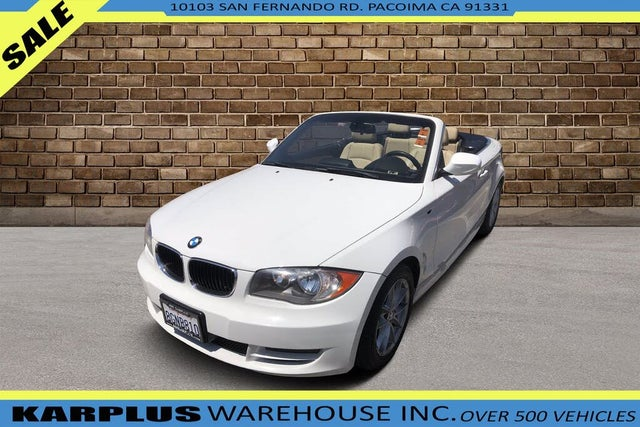 2011 BMW 1 Series 128i Convertible RWD
