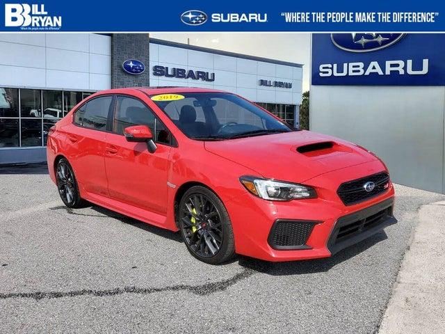 2019 Subaru WRX STI Limited AWD with Low Profile Spoiler