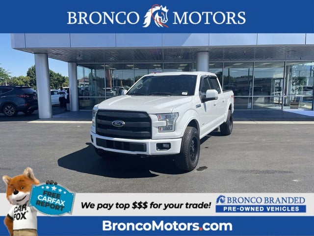 2016 Ford F-150 King Ranch SuperCrew 4WD