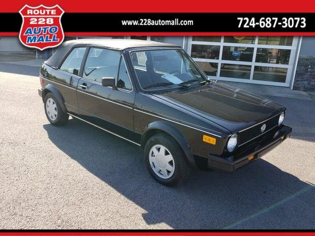 1986 Volkswagen Cabriolet Base