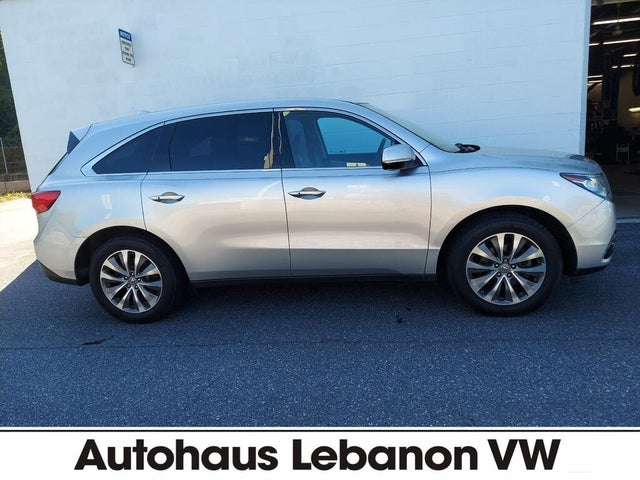 2014 Acura MDX SH-AWD with Technology and Entertainment Package