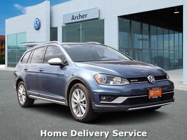 2017 Volkswagen Golf Alltrack SE 4Motion AWD