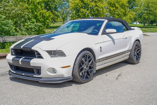 2013 Ford Mustang Shelby GT500 Convertible RWD