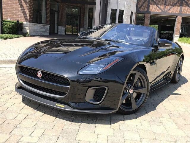 2018 Jaguar F-TYPE 400 SPORT Convertible AWD