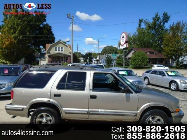 1999 Chevrolet Blazer LS 4-Door RWD