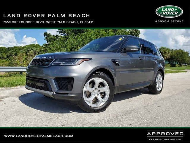 2018 Land Rover Range Rover Sport Td6 SE 4WD