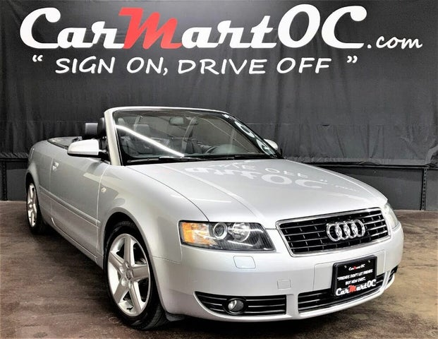 2005 Audi A4 3.0 Cabriolet FWD