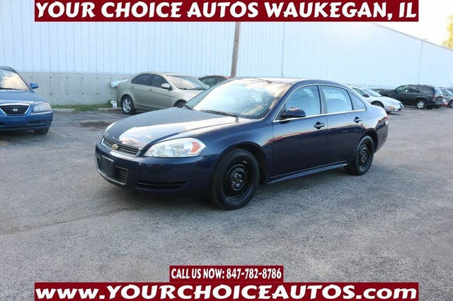 2010 Chevrolet Impala Unmarked Police FWD