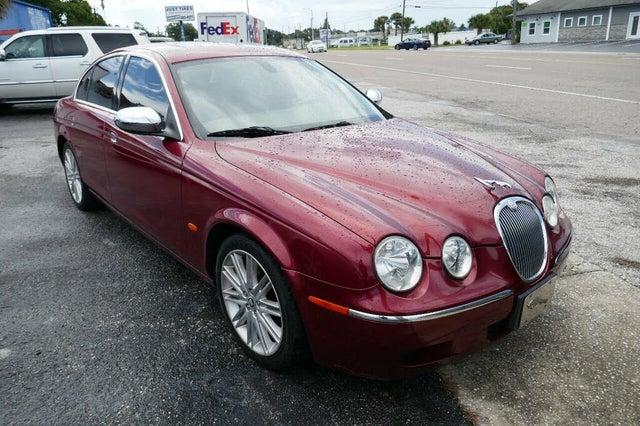 2008 Jaguar S-TYPE 3.0L V6 RWD