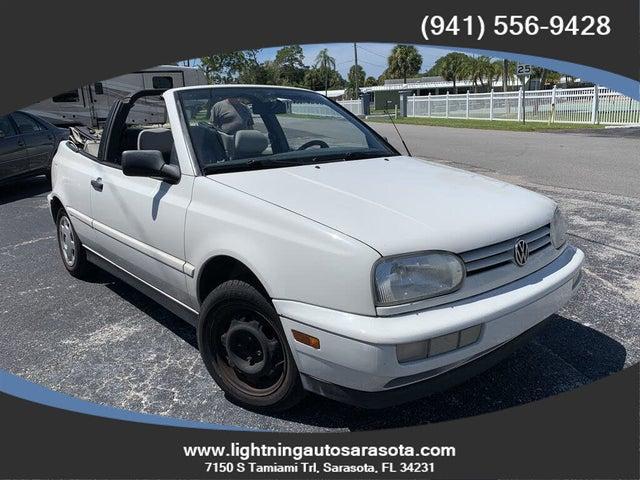 1999 Volkswagen Cabrio 2 Dr GL Convertible