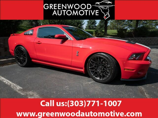 2013 Ford Mustang Shelby GT500 Coupe RWD