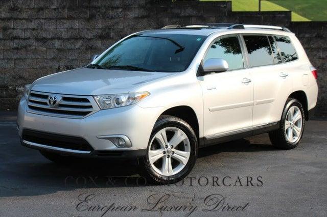 2012 Toyota Highlander Limited AWD