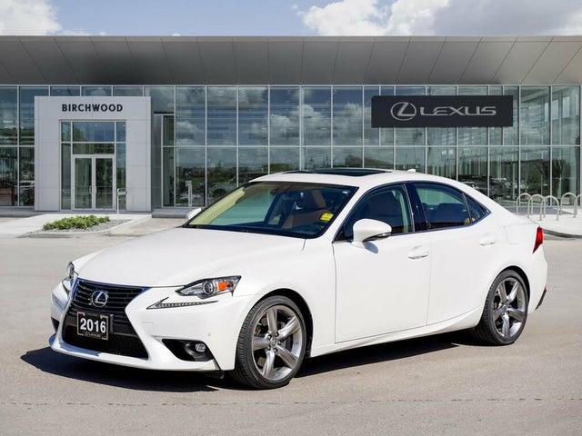 2016 Lexus IS 350 AWD