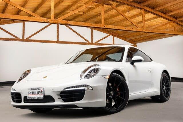 2013 Porsche 911 Carrera Coupe RWD